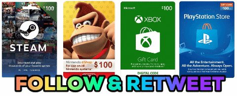 Follow CAG & Retweet for a Chance to Win a $100 Gift Card for Either the eShop, Steam, Xbox Live or PSN. Winner Picks Digital Store Platform. Ends April 27th at 10PM ET.