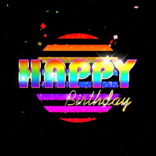 Hope you have an amazing day! Happy Birthday!