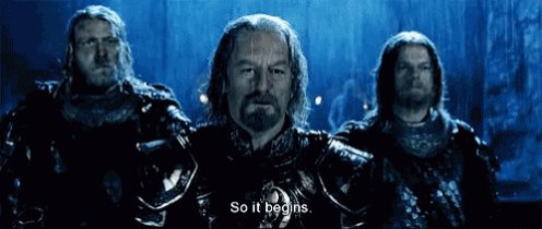 So It Begins Lord Of The Rings GIF