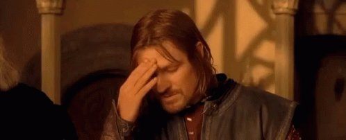 One Does Not Simply - The Lord Of The Rings GIF