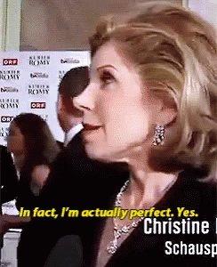 Happy Birthday to the ageless icon that is Christine Baranski!