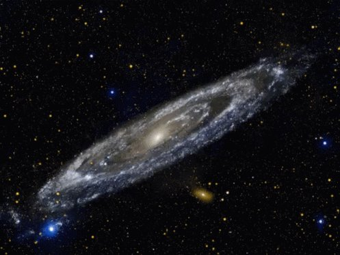 Galaxy Andromeda Galaxy GIF