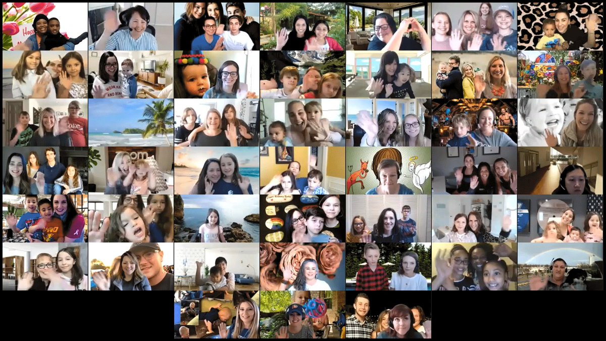 We love all of our Zoom Moms! Happy Mother's Day #ZoomWithMom #CareIsBeautiful