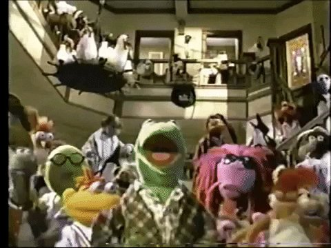 the muppets dancing GIF