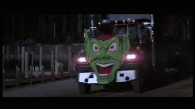 Any (it's all) AC/DC from Maximum Overdrive, written & directed by @StephenKing. I'm  partial to the aptly titled 'Who Made Who?' myself. Thank you, Mr. King, for that awesome soundtrack. May  the Green Goblin forever be ahead, instead of behind you!