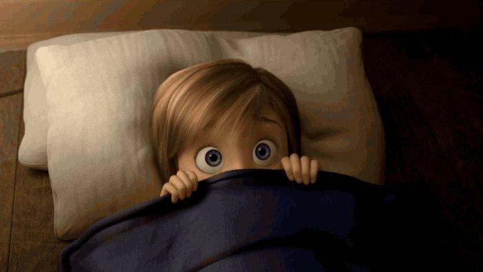scared disney pixar GIF by Disney