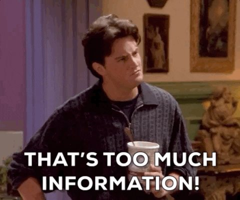 Season 1 Too Much Information GIF by Friends