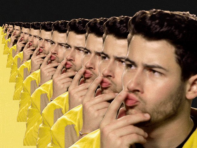 Think Which One GIF by Nick Jonas