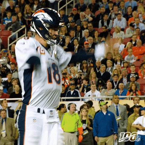 Peyton Manning against Tom Brady: 3-2 in the playoffs 1-0 on the course #TheMatch