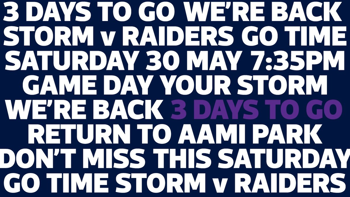 Image for the Tweet beginning: Counting down... #YourStorm