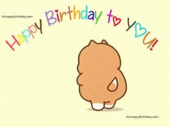 happy birthday cher Yann