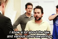 Bird Law IKnow ALot ABout The Law And Various Other Lawyerings GIF
