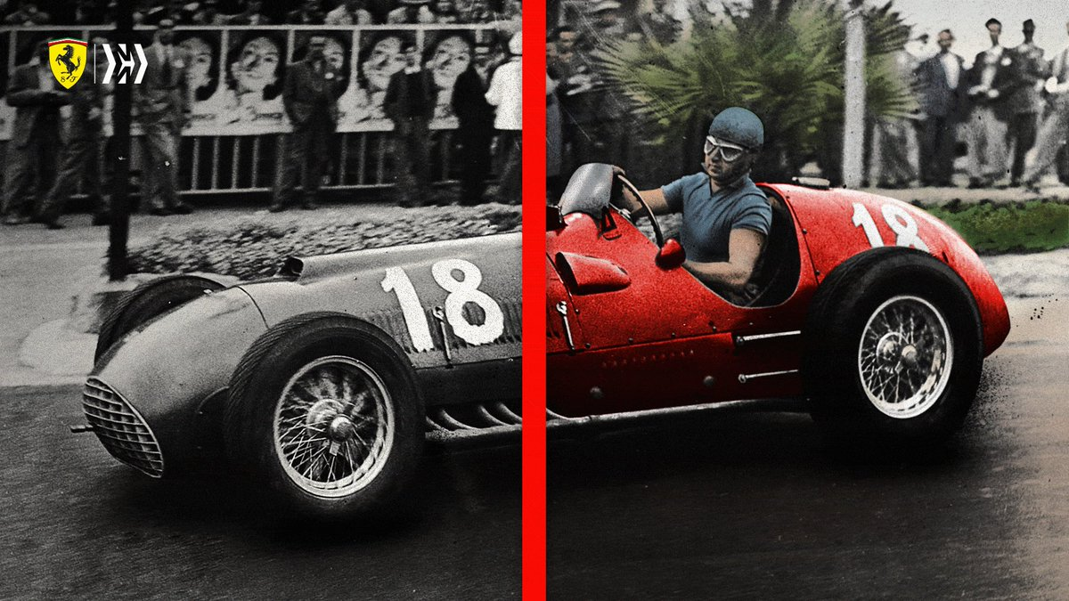 Only a certain few in #F1 carry legendary status, Alberto Ascari is one of those 💪  #essereFerrari 🔴