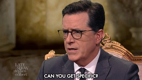 stephen colbert what GIF by The Late Show With Stephen Colbert