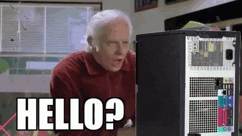 Hello Old People GIF