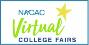 Image for the Tweet beginning: Announcing NACAC Virtual College Fairs!