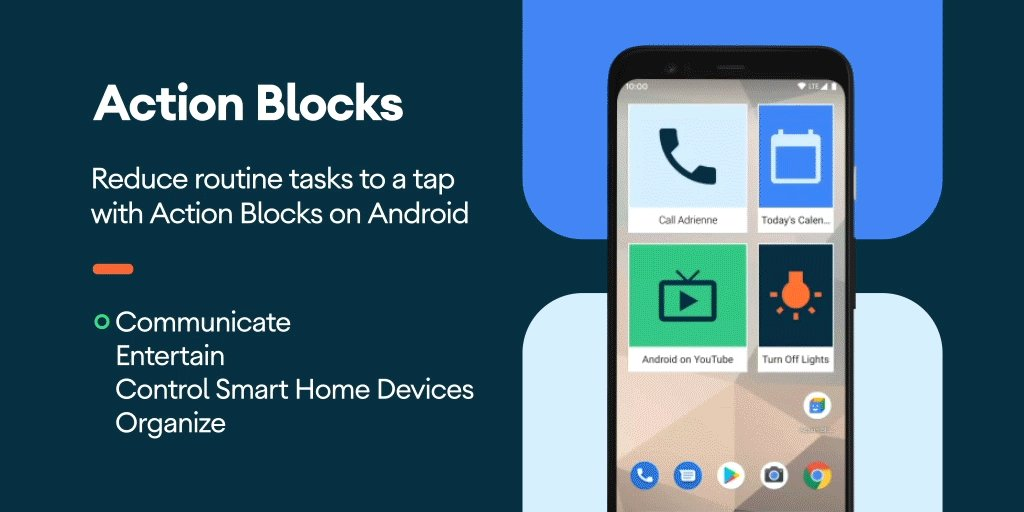 Action Blocks was built with the way you use your Android phone in mind. Create home screen widgets for your everyday tasks to save time and taps. https://t.co/hkfXzYPJtp