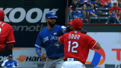 Four years ago today, Rougned Odor violated social distancing