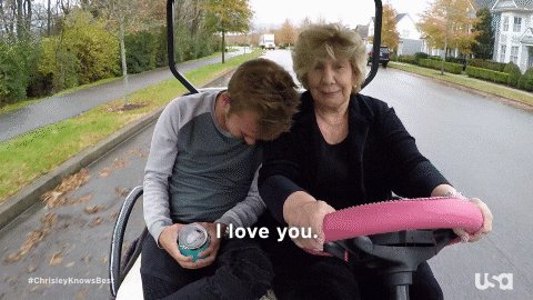 Can the love between @ChrisleyChase and Nanny Faye be any purer?