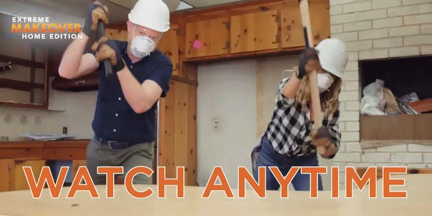 Who doesn't love a good demo? Rewatch all your favorite #HGTVExtreme moments now: watch.hgtv.com/tv-shows/extre…