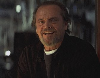 Jack Nicholson Reaction GIF
