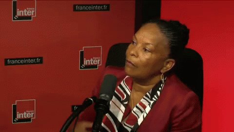 Christiane Taubira GIF