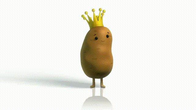 potato GIF