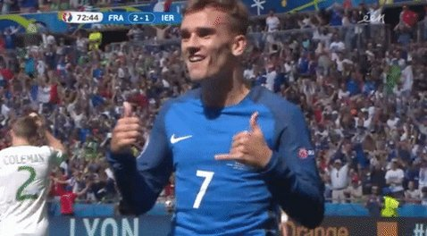 Imagine how many iconic celebrations griezmann would have planned In his head but he does not have the liberty to celebrate in Barcelona  #griezmann pic.twitter.com/iNPxZPG7PO