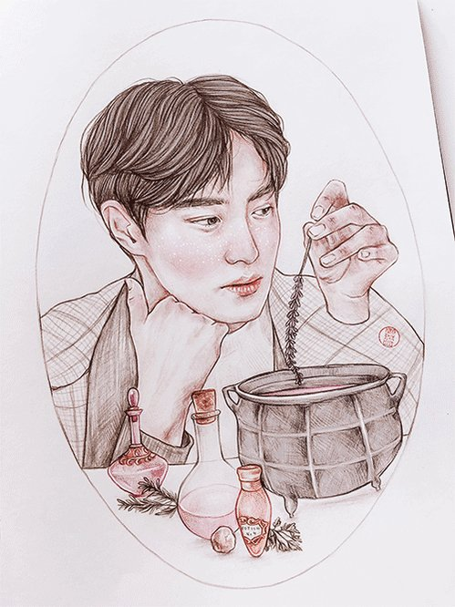 Happy Birthday to @weareoneEXO's leader #Suho!  (art by #hillyberry) #SUHO522DAY