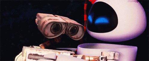 WALL-E And EVE GIF