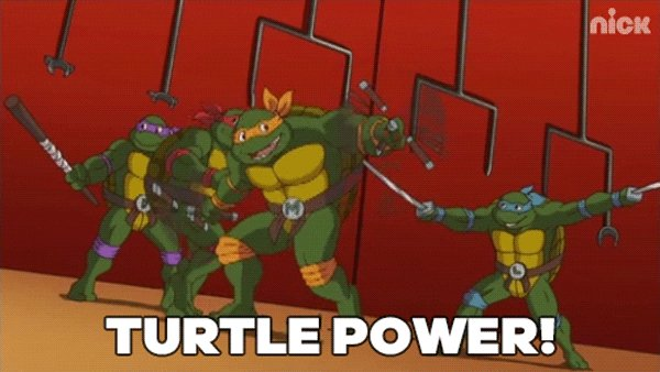 ninja turtles GIF by Teenag...