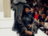 Happy 50th Birthday to the baddest supermodel to ever do it. Thee Naomi Campbell!