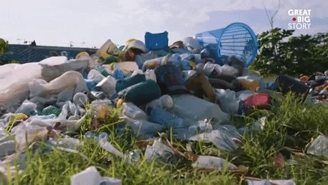 planet earth trash GIF by Great Big Story