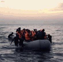 Refugee Boat GIF