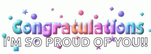 Congratulations Congrats GIF