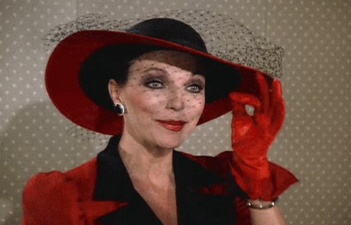 Wishing Joan Collins a very happy birthday.