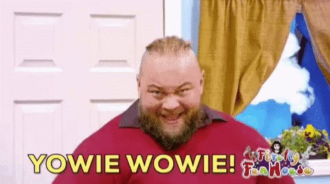 Yowie Wowie for it\s birthday. Happy Birthday Bray Wyatt!