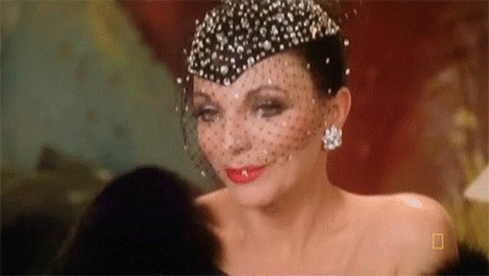 Happy birthday to Dame Joan Collins (