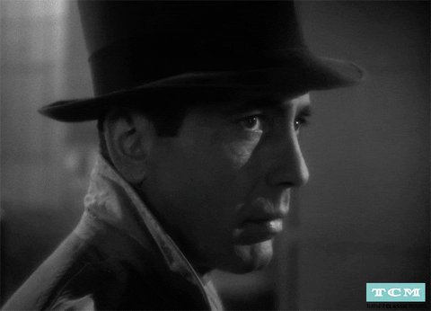 #Casablanca is such an iconic movie. One if not the best film to come out during the 40s. A perfect cast, beautiful music and camerawork, and iconic lines within an amazing story that takes me back to an era when my grandparents were only teenagers and living in a world at war. pic.twitter.com/iJouu9T9Lj