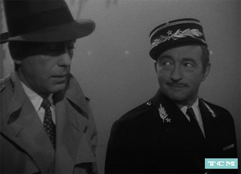 when the authorities shut Rick's cafe down (because Nazis), he kept paying his employees. because that's what you do. #casablanca pic.twitter.com/9oa108xh8I