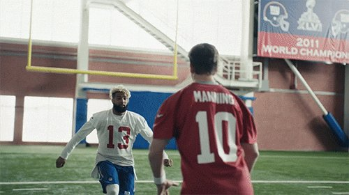 Peyton is the better golfer, but I'm actually the better dancer … @obj can tell you.
