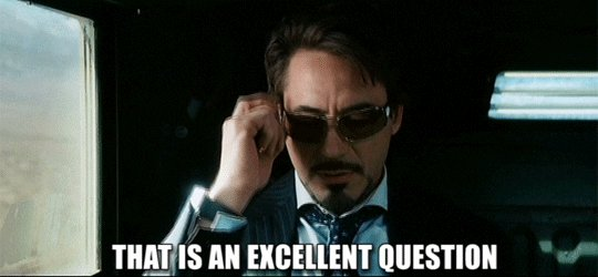 iron man question GIF