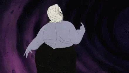 Ursula Dancing GIF