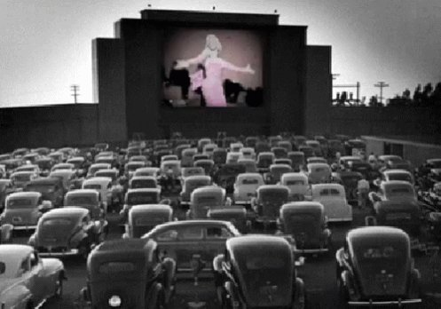 Tonight on June 6, 1933 the first #DriveInMovie openened near Camden, New Jersey - How many went on a date to the Drive In ? pic.twitter.com/BdvRmefTtw