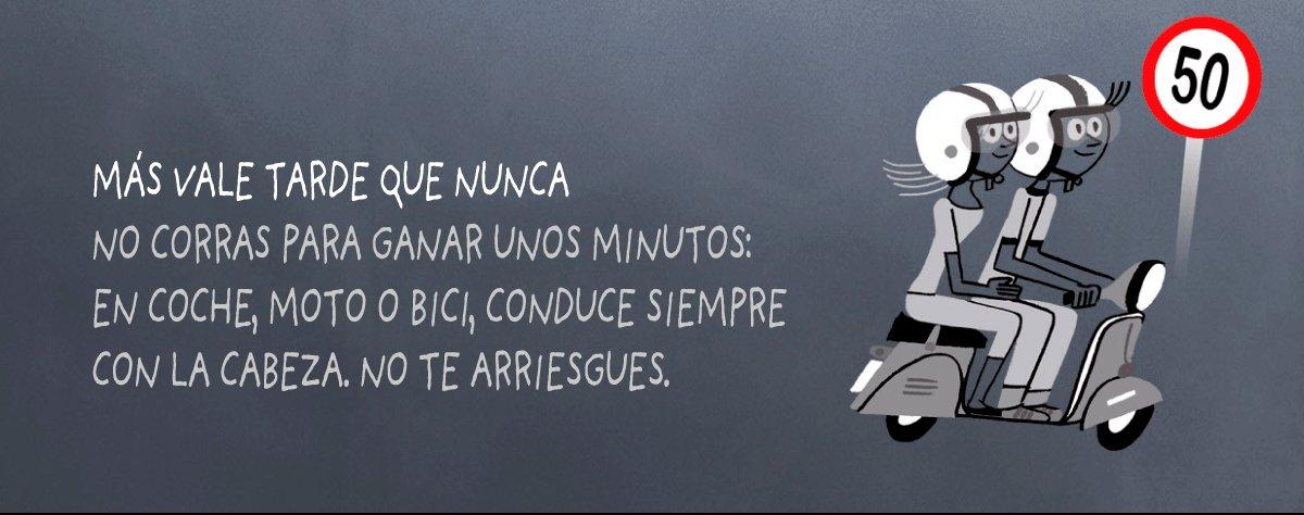 Image for the Tweet beginning: Consejos de #SeguridadVial a tener
