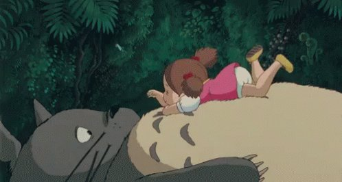 Maybe spend a little time with the forest spirit Totoro after that.