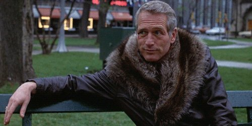 unbothered paul newman GIF