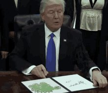 "Trump today signed the ""I'm Taking My Ball And Going Home"" executive order. He then used the potty and afterward took a nap.  #ToddlerinChief pic.twitter.com/0Ec7eOmTfi"
