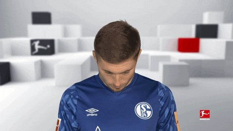 Surely I have to see my first Schalke win today?!
