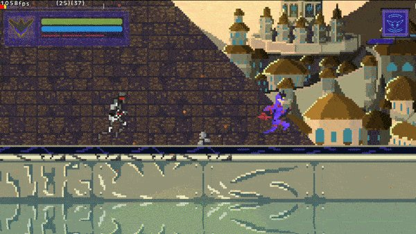 Adding a chase sequence to Ultimate Reality!  #pixelart #gamemakerstudio #indiegame #gamdev #cyberpunk #platformer #action pic.twitter.com/Up2OibdVeV